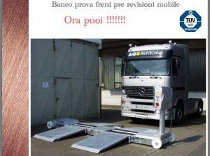 Banco prova freni mobile