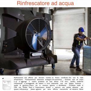 Generatore fresco certificato per zone lavoro officine veicoli industriali ed industria
