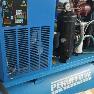 Compressore Peruffo revisionato con garanzia 500 litri a vite silenziato per officina veicoli industriali