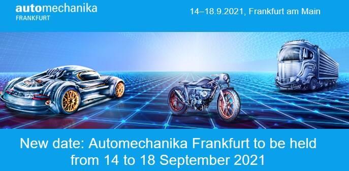 Presenza fiera Automekanica Francoforte 2021