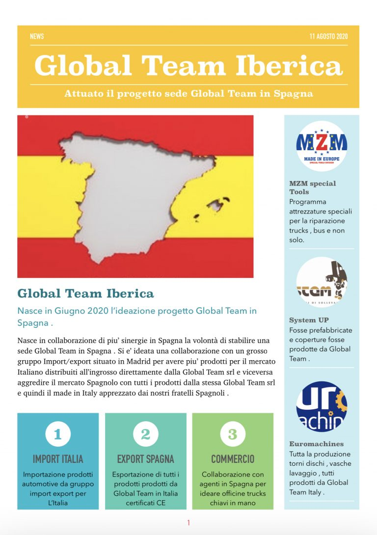 Global Team in Spagna