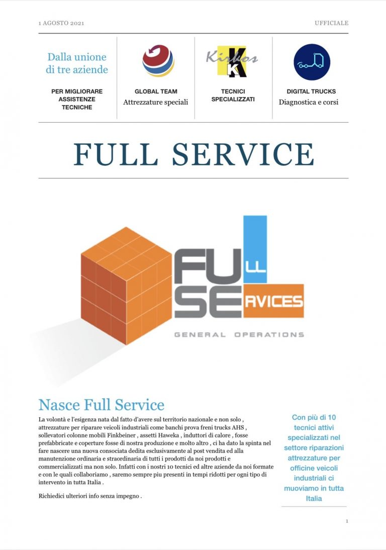 Nasce Full Service